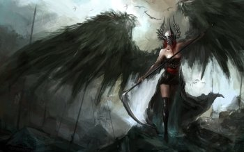 Fantasy - Angel Warrior Wallpapers and Backgrounds ID : 494202