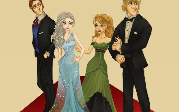 Movie Frozen Anna Kristoff Elsa Snow Hans HD Wallpaper | Background Image