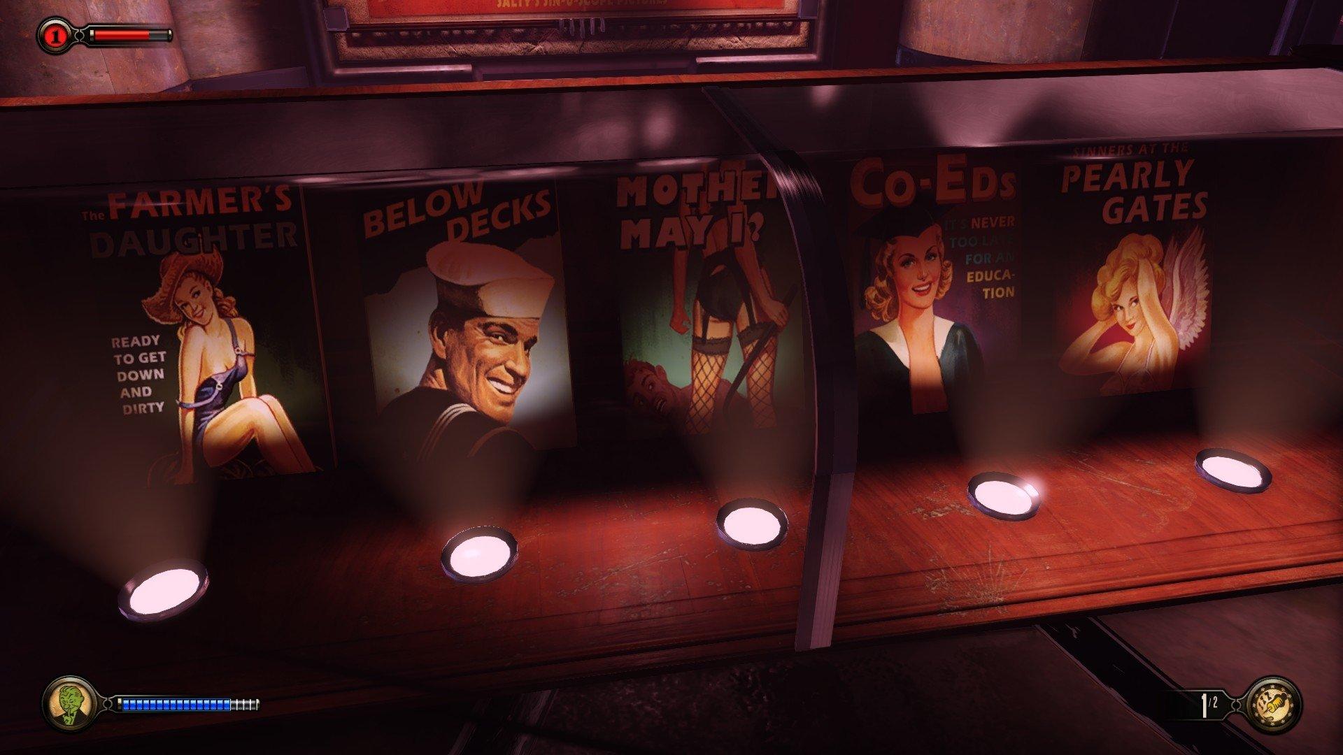 Video Game - BioShock Infinite: Burial at Sea  Elizabeth (Bioshock Infinite) Bioshock Infinite Rapture (Bioshock) Wallpaper