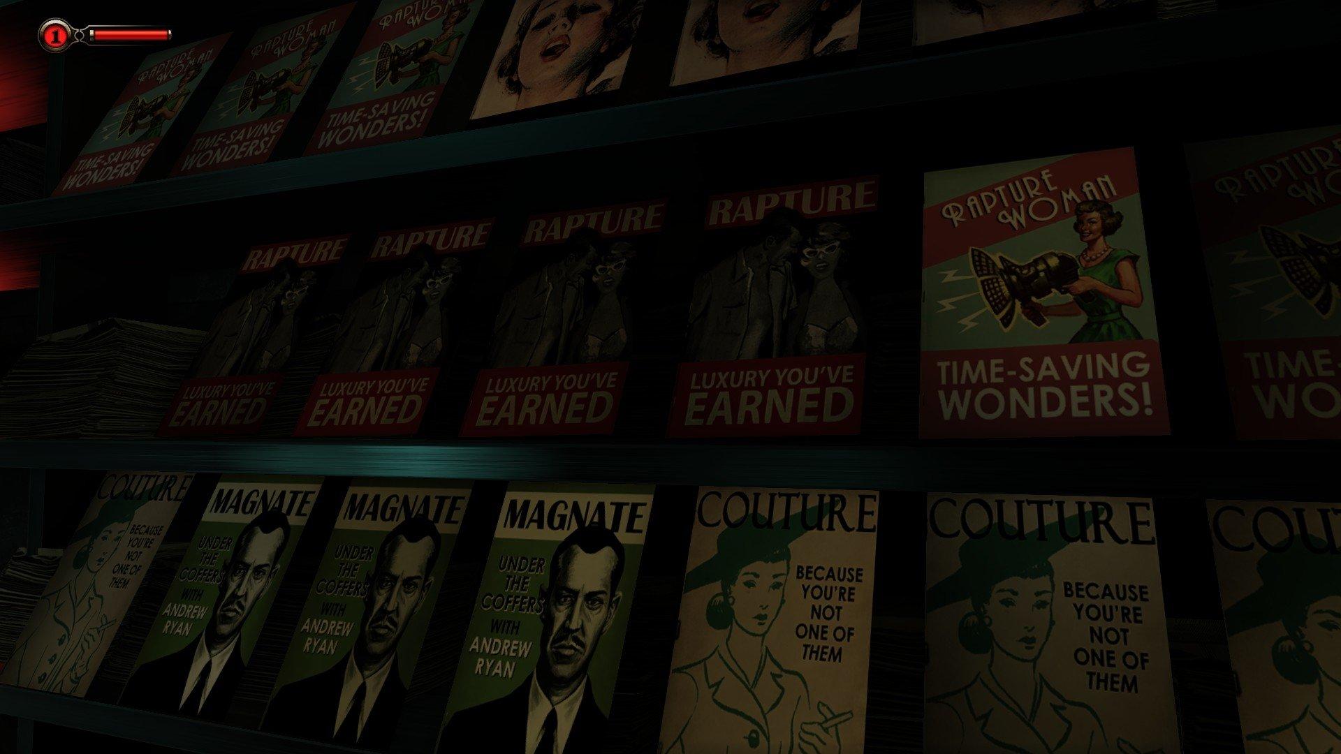 Video Game - BioShock Infinite: Burial at Sea  Book Elizabeth (Bioshock Infinite) Bioshock Infinite Rapture (Bioshock) Wallpaper