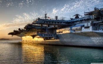 Military - USS Midway (CV-41) Wallpapers and Backgrounds ID : 498390