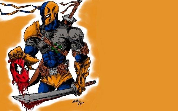 Bande-dessinées Deathstroke Deadpool Fond d'écran HD | Arrière-Plan