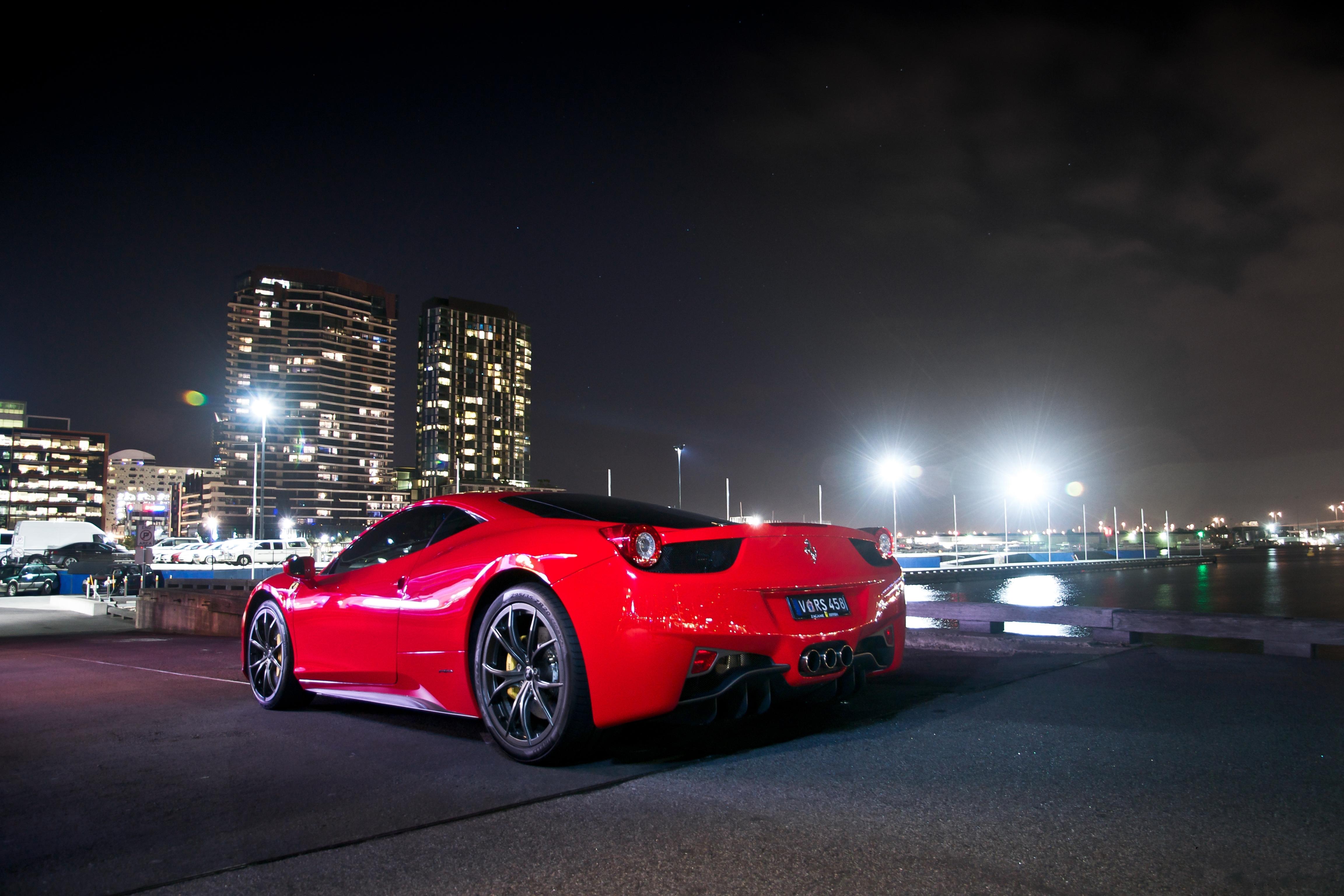 Ferrari 458 4k Ultra Hd Wallpaper Background Image 4608x3072