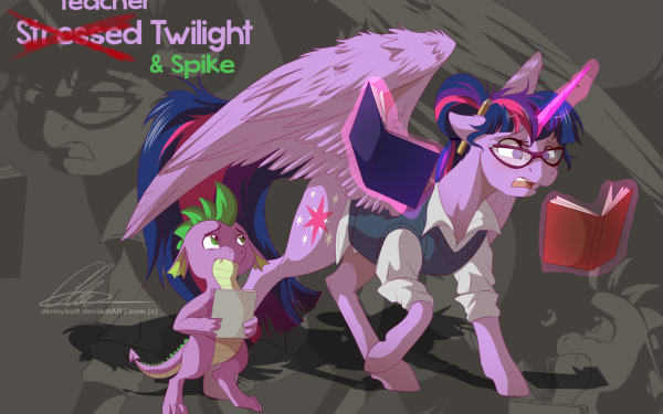 TV Show My Little Pony: Friendship is Magic My Little Pony Twilight Sparkle Spike HD Wallpaper   Background Image