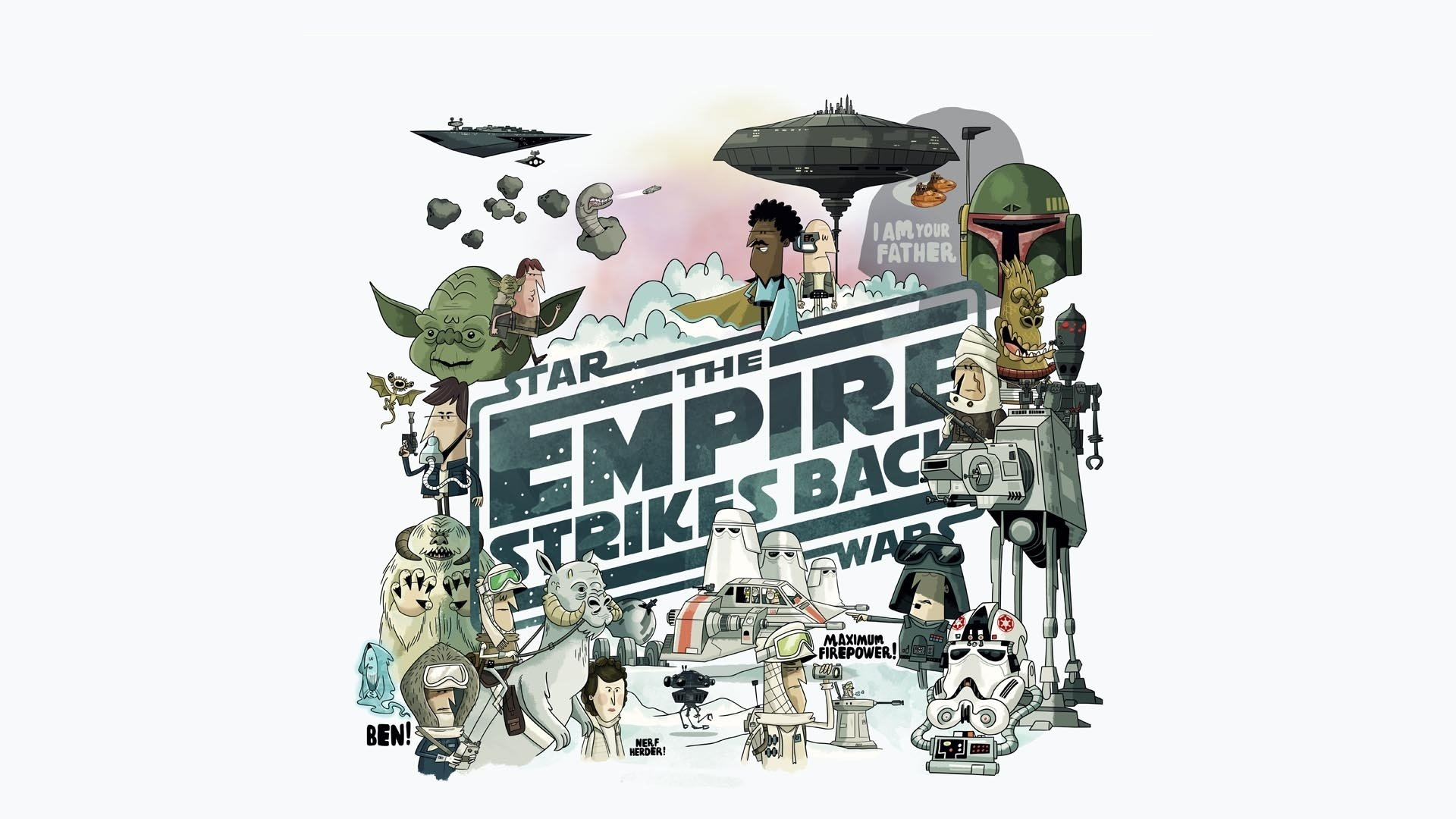 Star Wars Episode V: The Empire Strikes Back HD Wallpaper