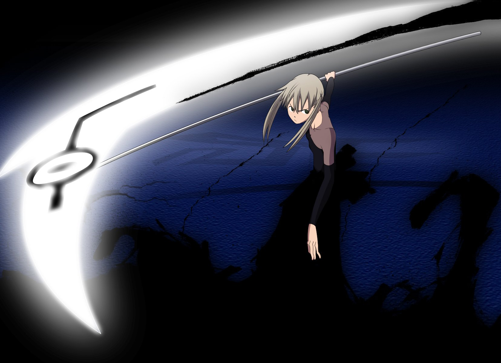 Soul eater maka albarn wallpaper and background image - Anime scythe wallpaper ...