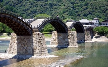 Man Made - Kintai Bridge Wallpapers and Backgrounds ID : 502276