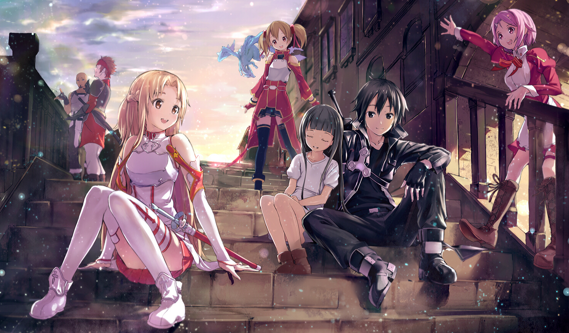 SAO - Charakter Full HD Papel de Parede and Background ...