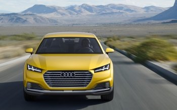 Vehicles - 2014 Audi Tt Offroad Concept Wallpapers and Backgrounds ID : 505673