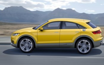 Vehicles - 2014 Audi Tt Offroad Concept Wallpapers and Backgrounds ID : 505674