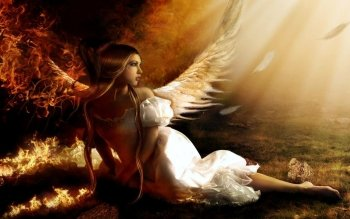 Fantasy - Angel Wallpapers and Backgrounds ID : 506705