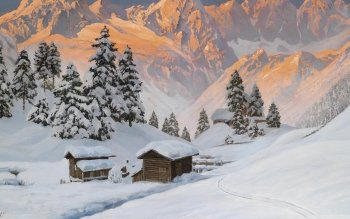 Artistisk - Winter Wallpapers and Backgrounds ID : 506988