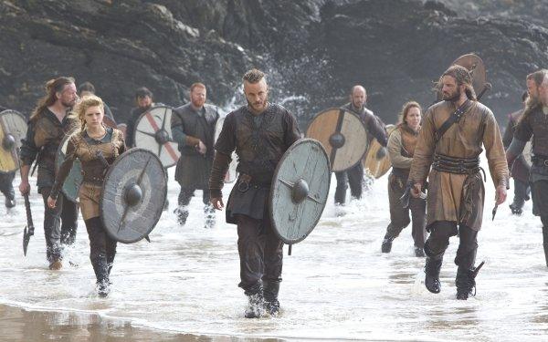 TV Show Vikings Lagertha Shield HD Wallpaper | Background Image