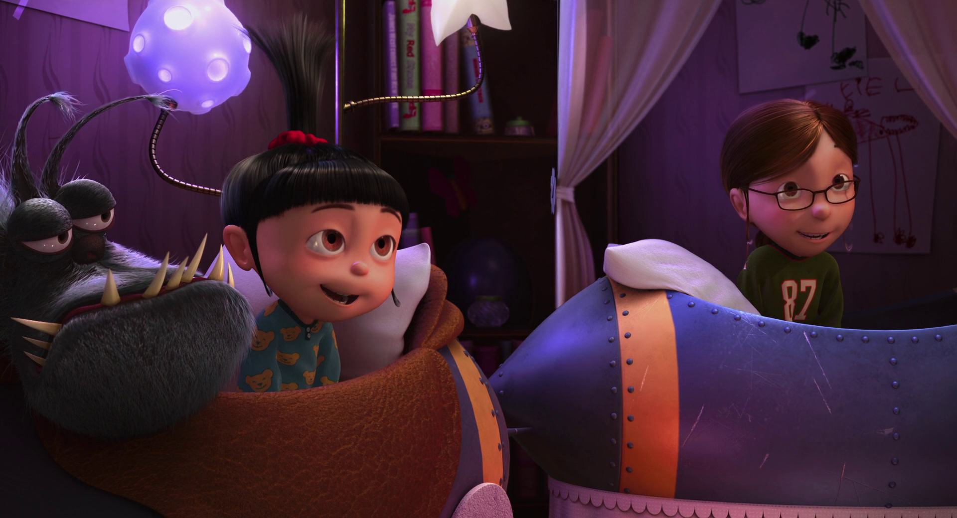 despicable me margo and agnes - photo #12