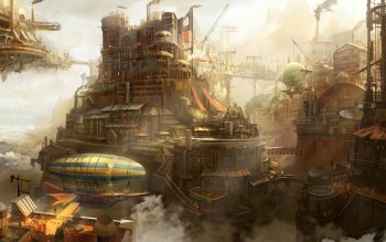 Sci Fi - Steampunk Wallpapers and Backgrounds ID : 507379