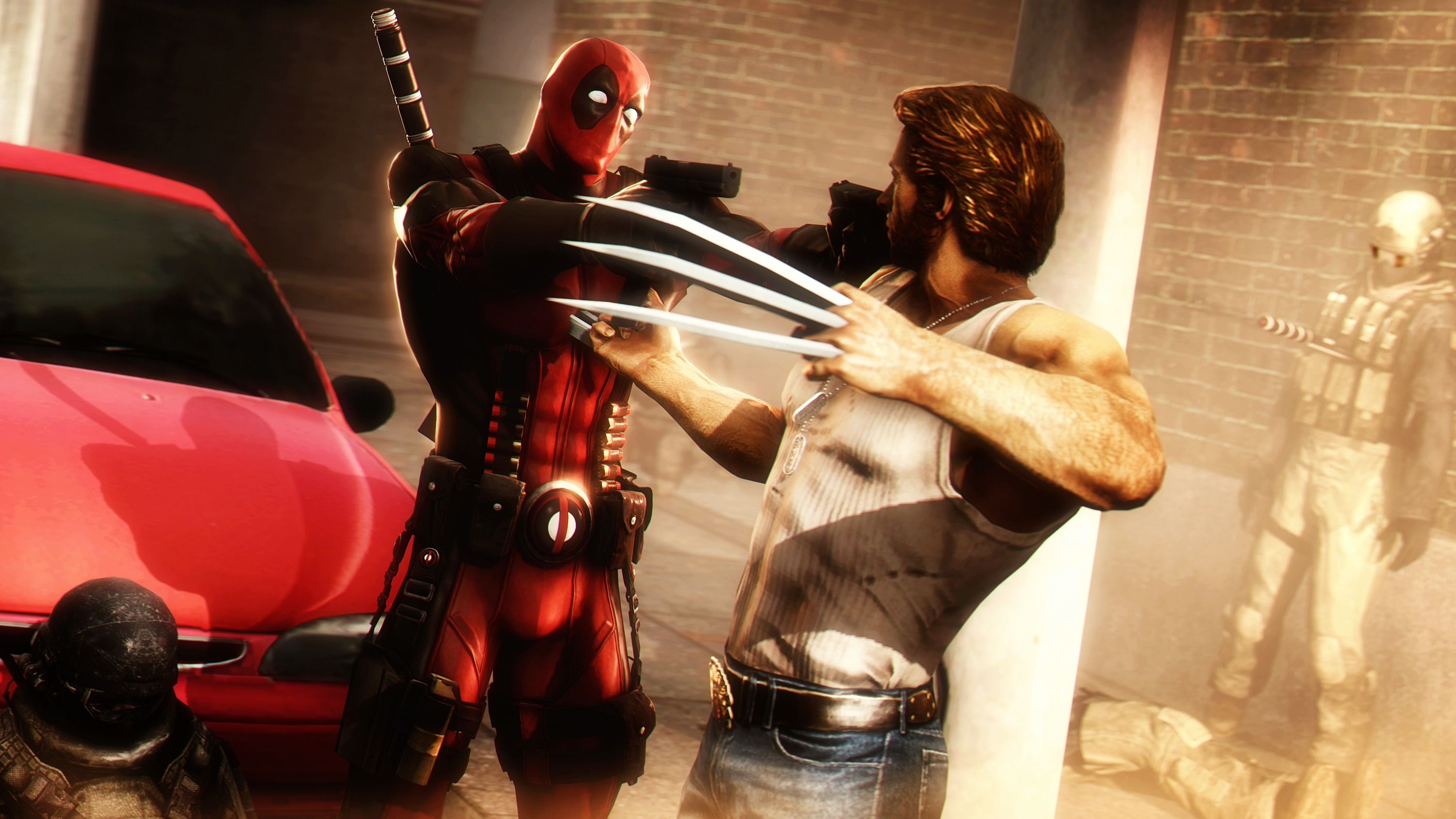 1 Deadpool Vs Wolverine Hd Wallpapers Background Images