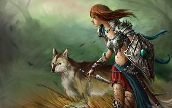 Fantasy - Women Warrior Wallpapers and Backgrounds ID : 510304