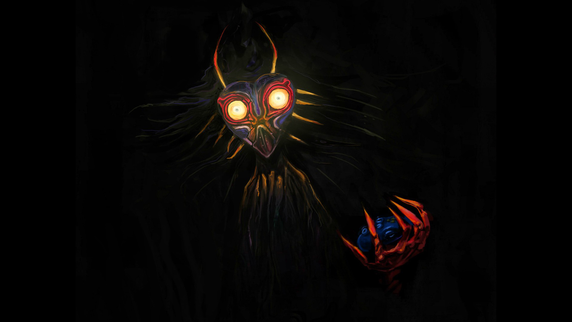 Majora S Mask Desktop Background: The Legend Of Zelda: Majora's Mask HD Wallpaper