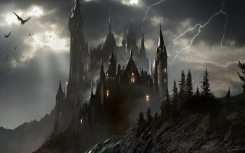 Fantasy - Castle Wallpapers and Backgrounds ID : 511303