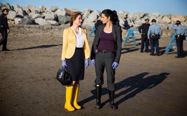 TV Show Rizzoli & Isles Angie Harmon Jane Rizzoli Sasha Alexander Dr. Maura Isles HD Wallpaper   Background Image