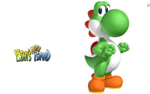 Video Game Yoshi's New Island Yoshi HD Wallpaper   Background Image