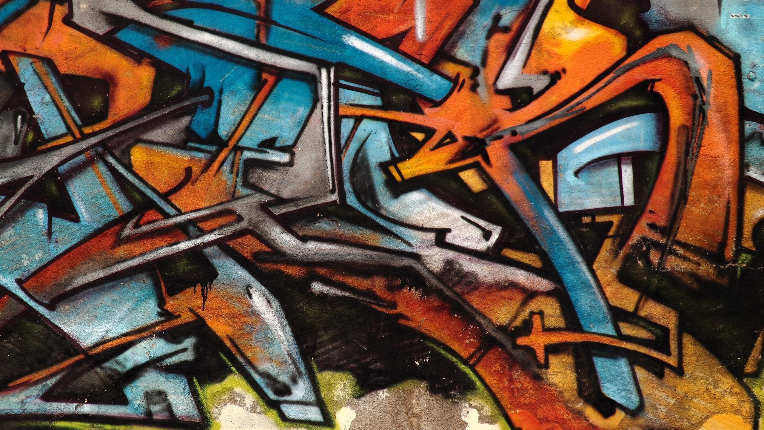 Graffiti Hd Duvar Kağıdı Arka Plan 2560x1440 Id513048