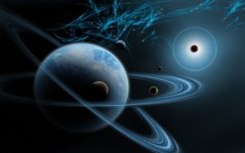 Sci Fi - Planetary Ring Wallpapers and Backgrounds ID : 514079