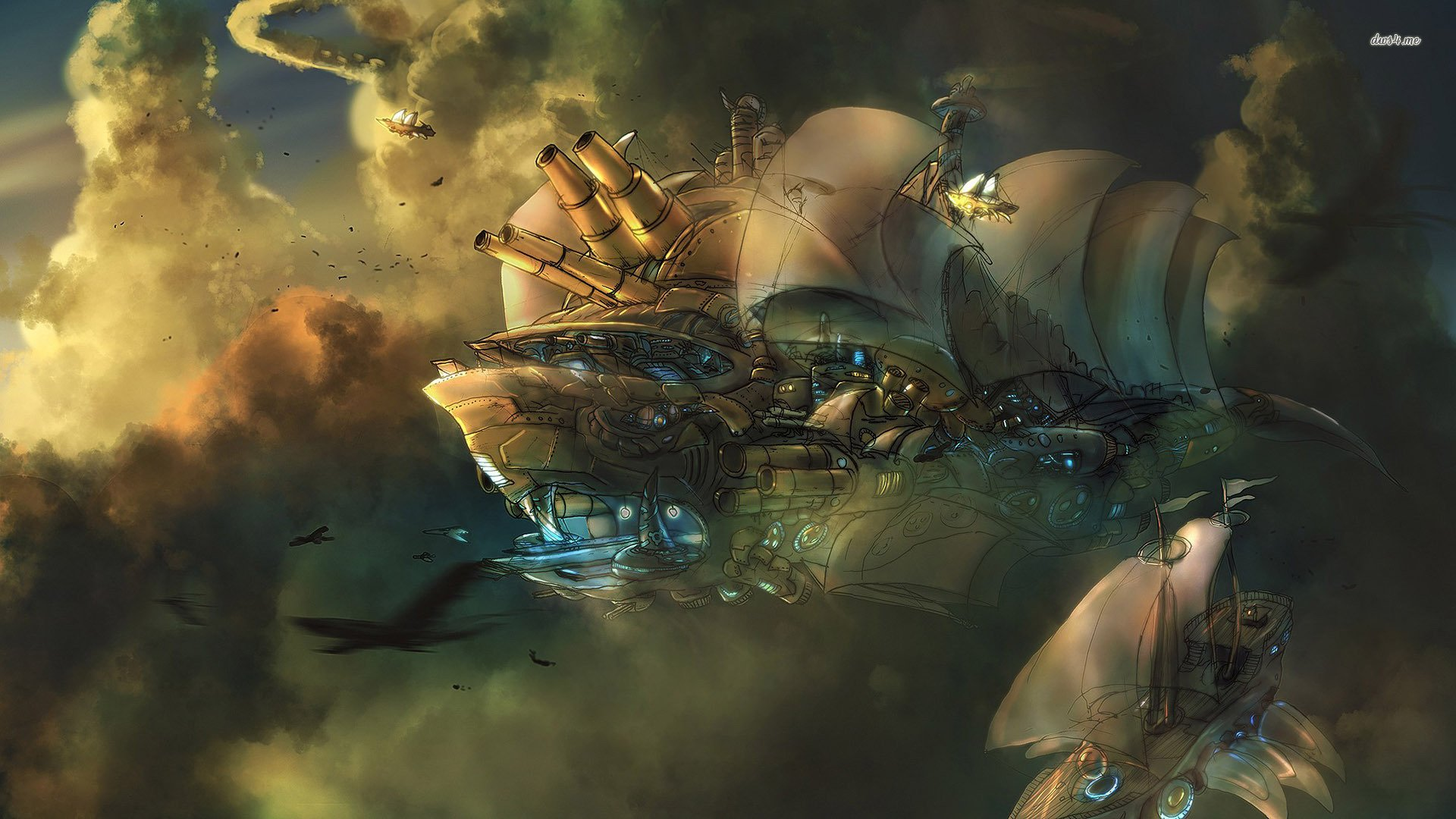 331 Steampunk Hd Wallpapers Background Images Wallpaper Abyss