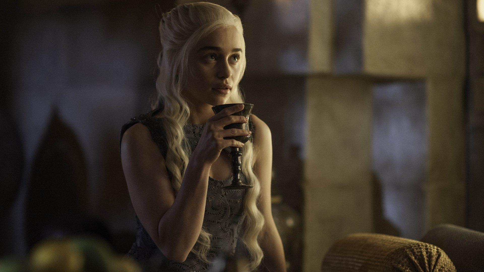 TV Show - Game Of Thrones  Emilia Clarke Daenerys Targaryen Wallpaper