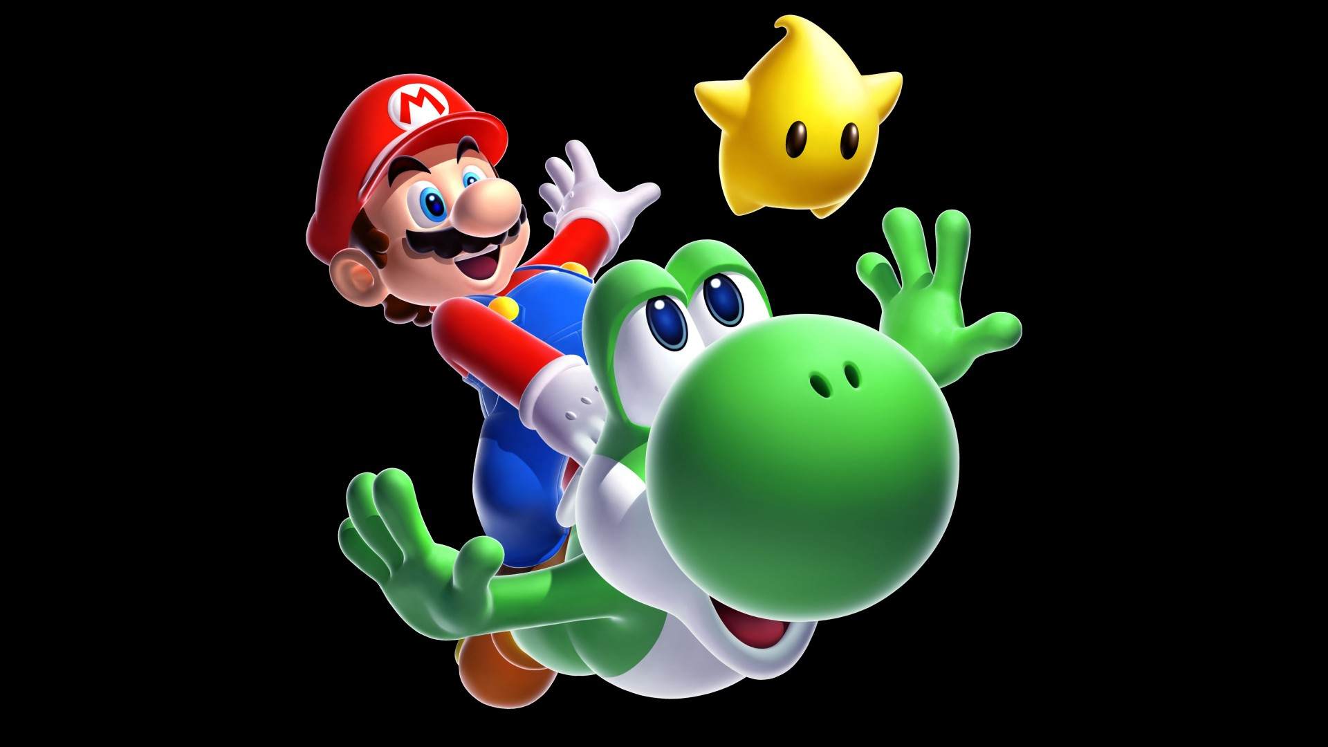 Super Mario Galaxy 2 Full HD Wallpaper and Background