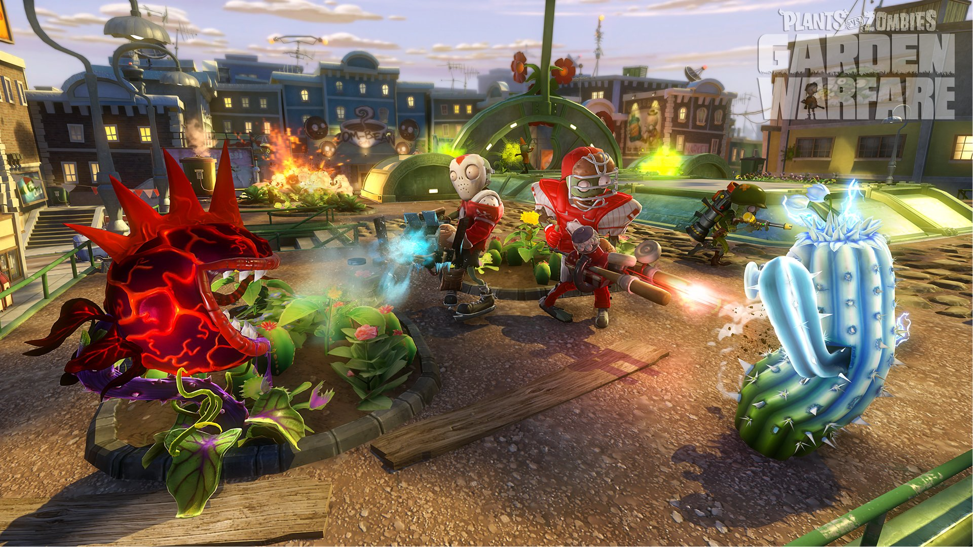 plants vs. zombies : garden warfare full hd wallpaper and background