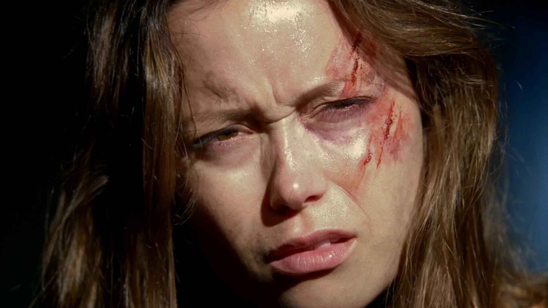 TV Show - Terminator: The Sarah Connor Chronicles  Summer Glau Scar Cameron Phillips Wallpaper