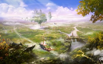 Fantasy - Landscape Wallpapers and Backgrounds ID : 516511