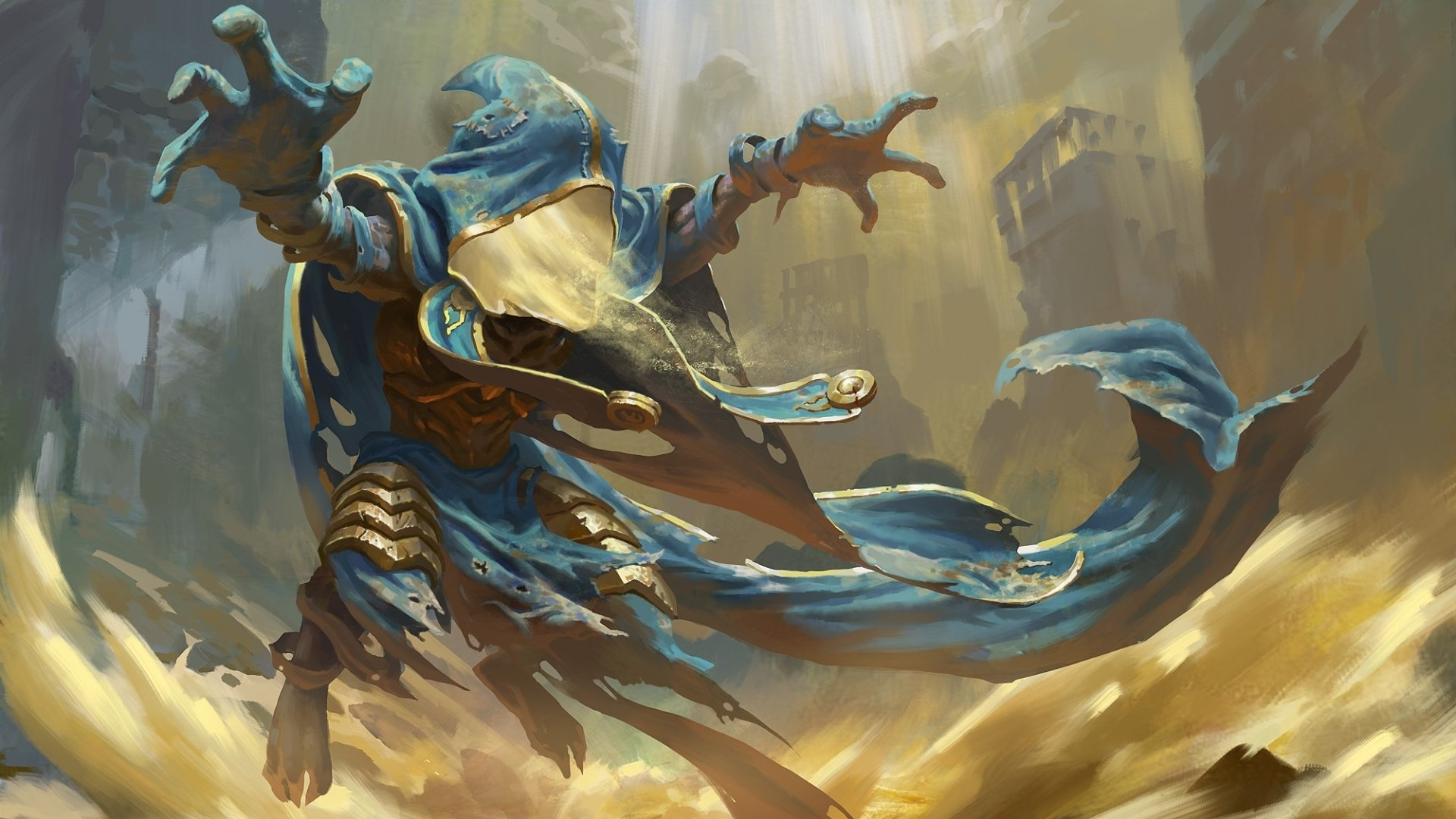 Fantasy Wizard Background 1 Hd Wallpapers: Sand Wizard Full HD Wallpaper And Background Image