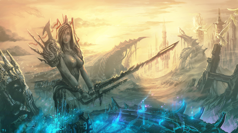 Fantasy - Women Warrior  Wallpaper