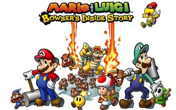 Video Game - Mario & Luigi: Bowser's Inside Story Wallpapers and Backgrounds ID : 518340