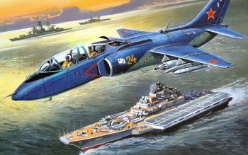 Military - Yakovlev Yak-38 Wallpapers and Backgrounds ID : 518455
