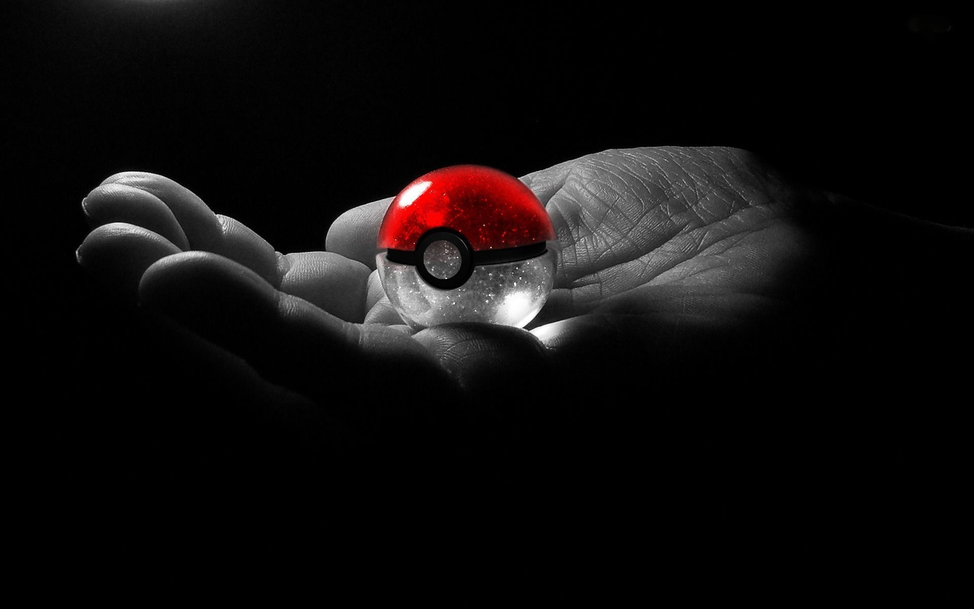 Pokeball In Hand Computer Wallpapers Desktop Backgrounds 1920x1200 Id 519728