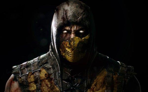 Video Game Mortal Kombat X Mortal Kombat Scorpion HD Wallpaper | Background Image