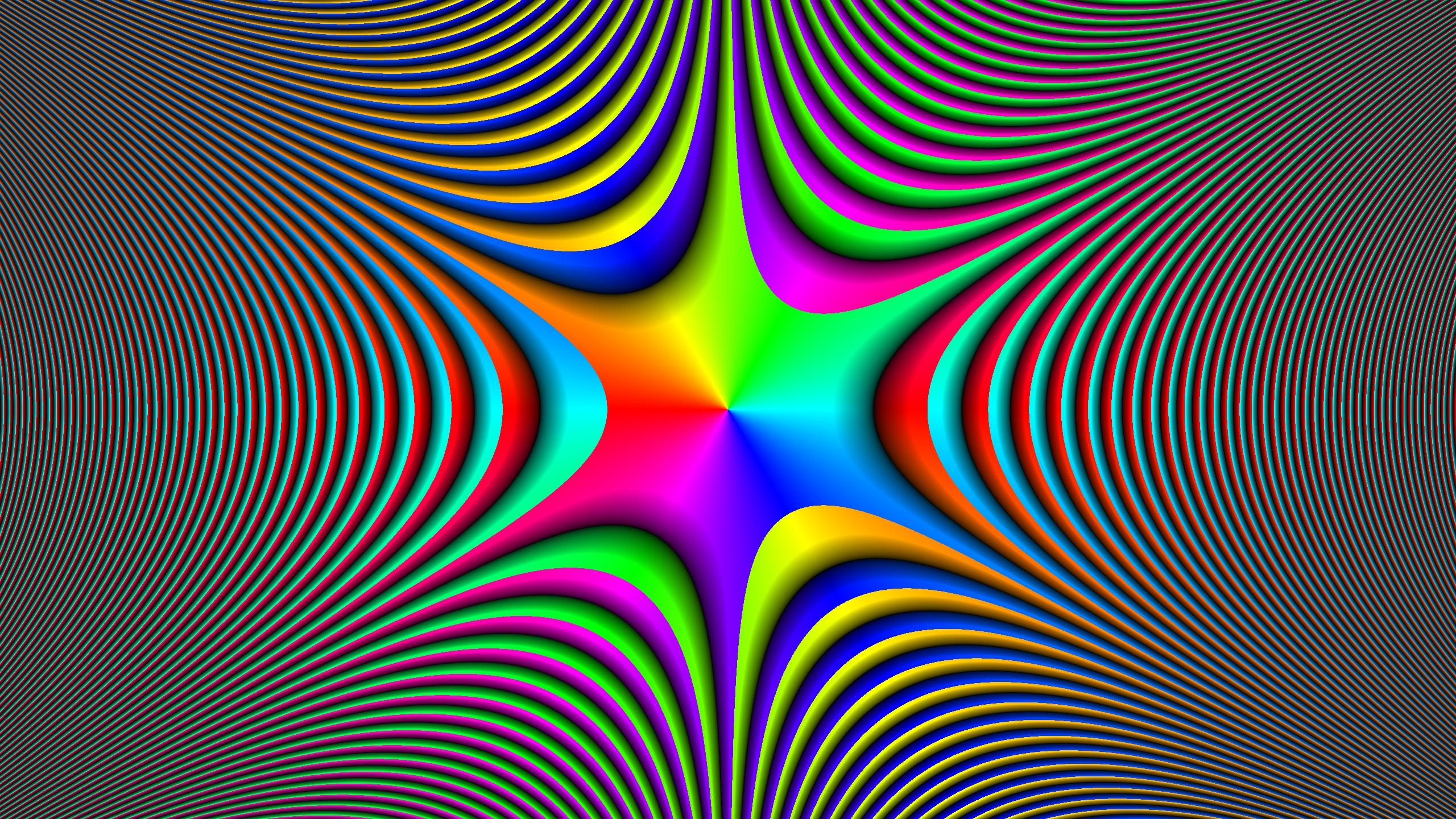Illusion Hd Wallpaper Background Image 2560x1440 Id