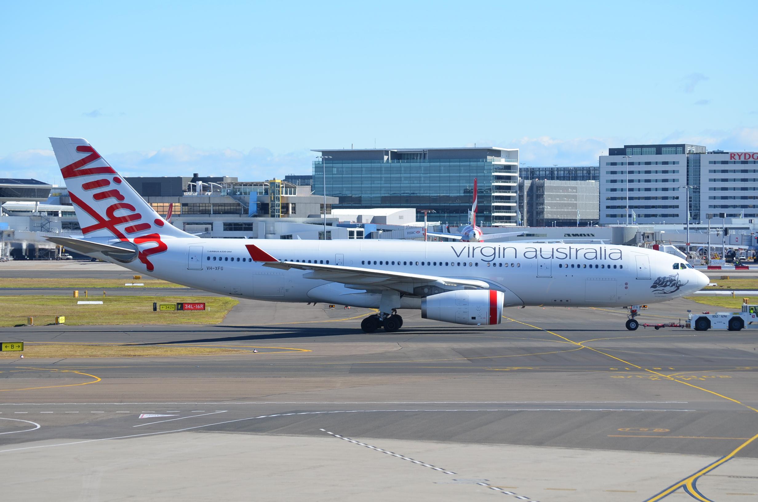 VH-XFG Airbus A330-243 Virgin Australia Airlines Sydney ...