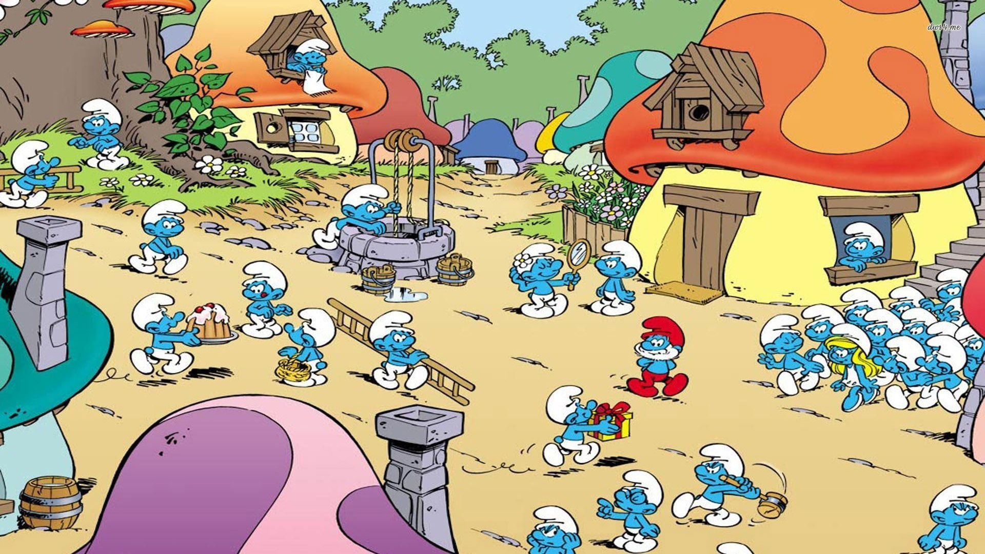 the smurfs HD Wallpaper | Background Image | 1920x1080 ...