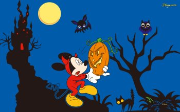Cartoon - Mickey Mouse Halloween Wallpapers and Backgrounds ID : 521059