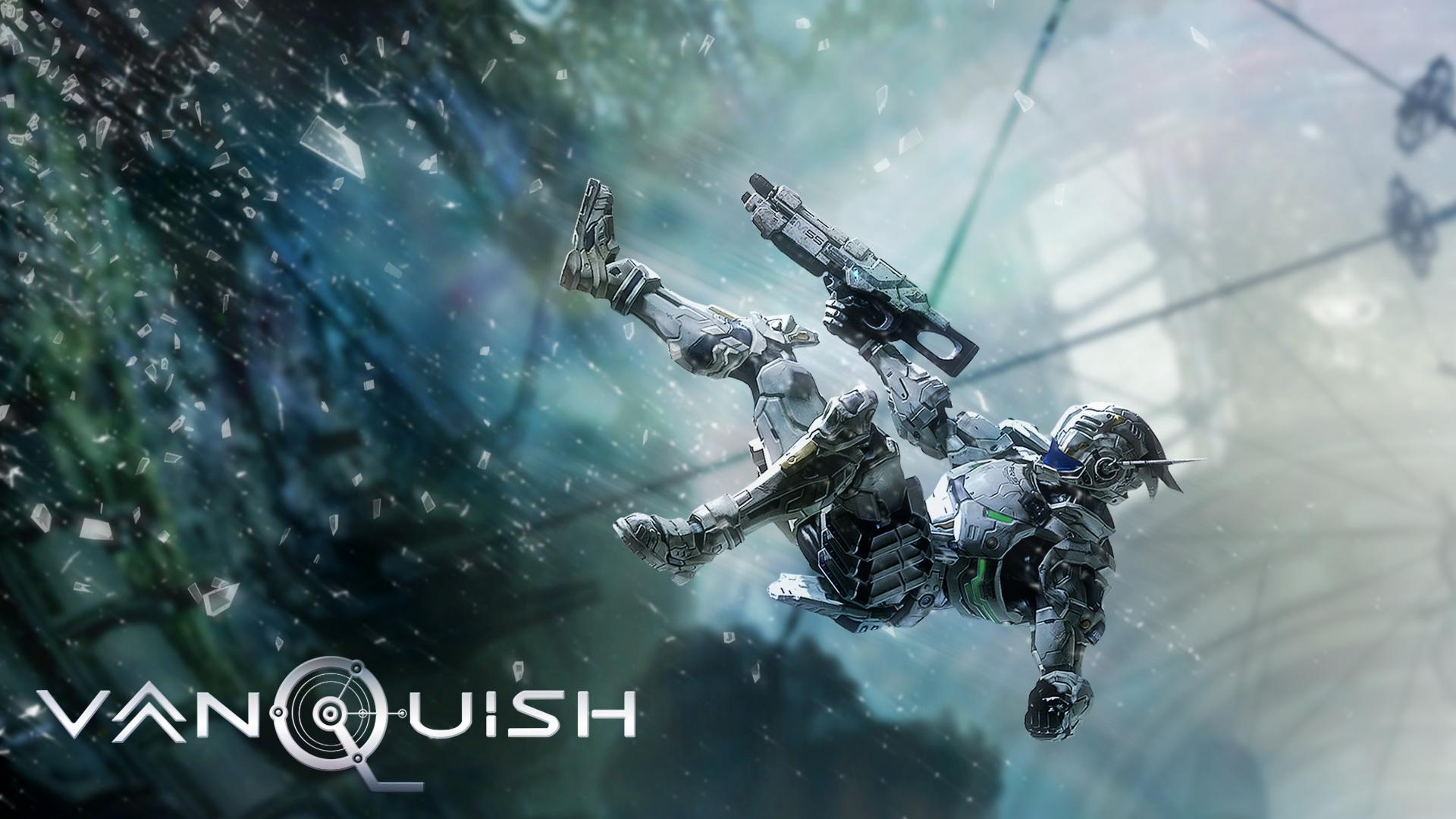 Vanquish game wallpaper
