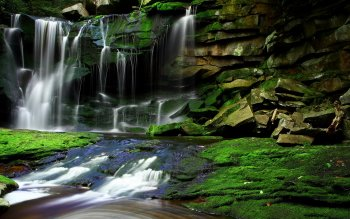 Earth - Waterfall Wallpapers and Backgrounds ID : 522145