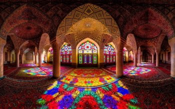 Религия - Nasir Al-Mulk Mosque Wallpapers and Backgrounds ID : 522976