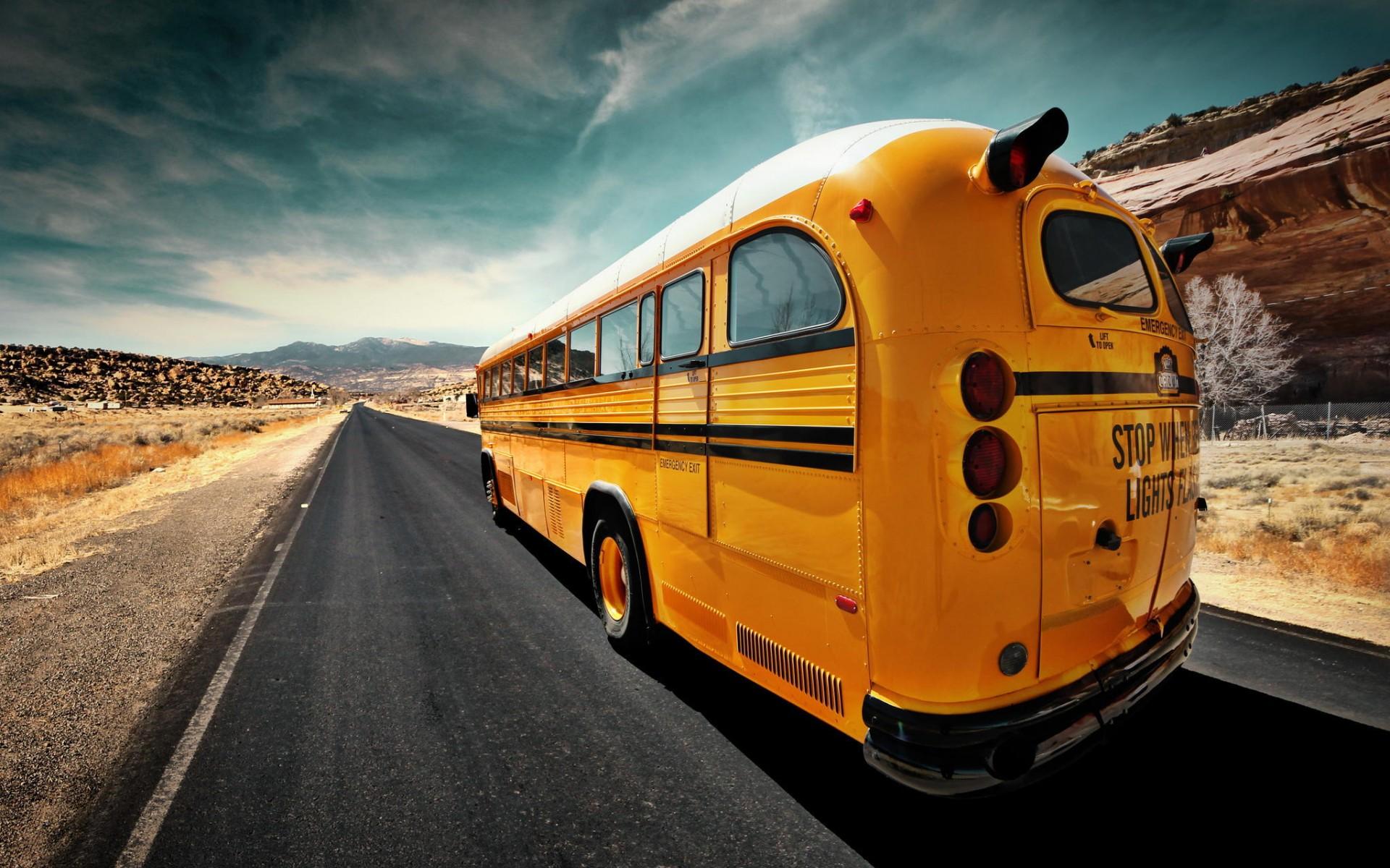 school bus wallpapers hd - photo #8