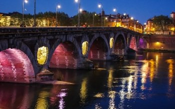 Man Made - Pont Neuf, Toulouse Wallpapers and Backgrounds ID : 524158