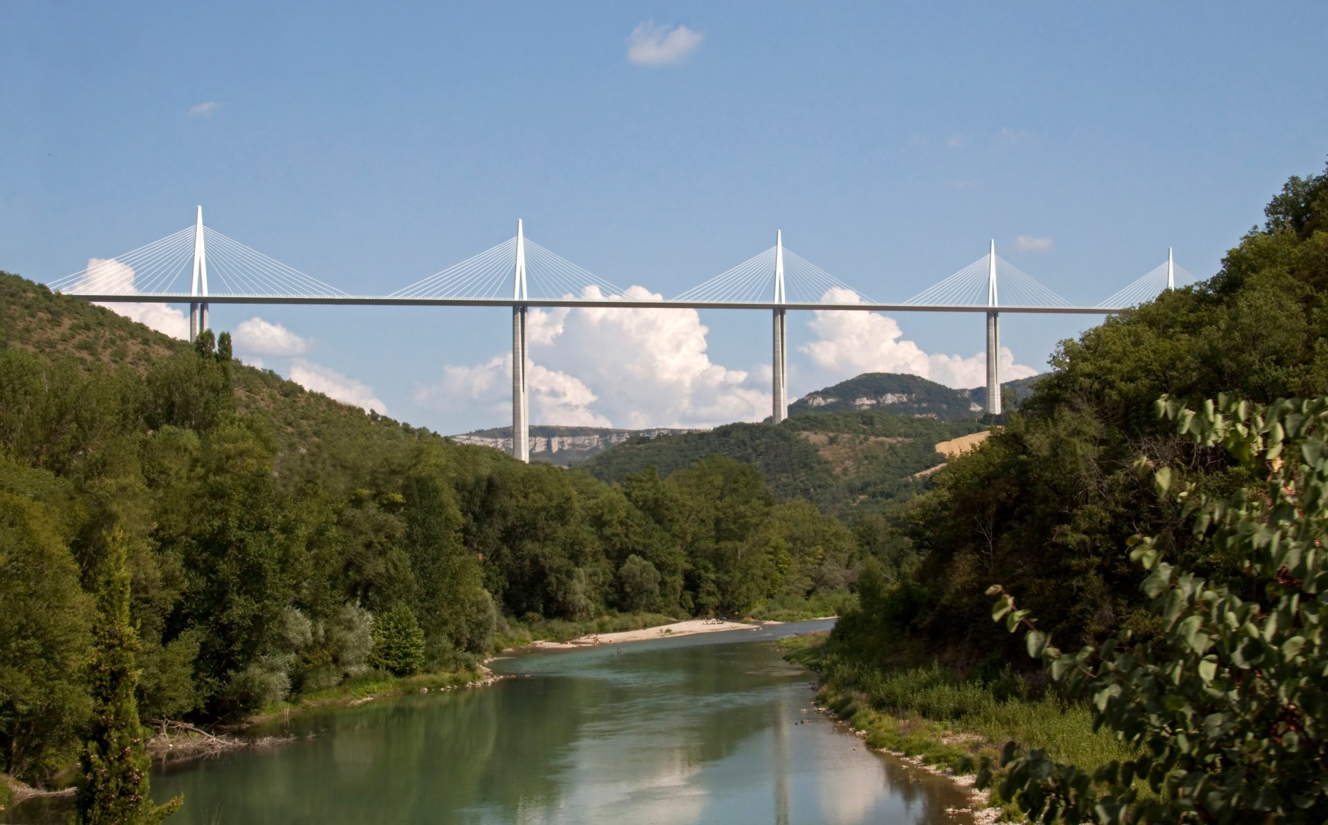 Millau Viaduct 4k Ultra HD Wallpaper and Background ...