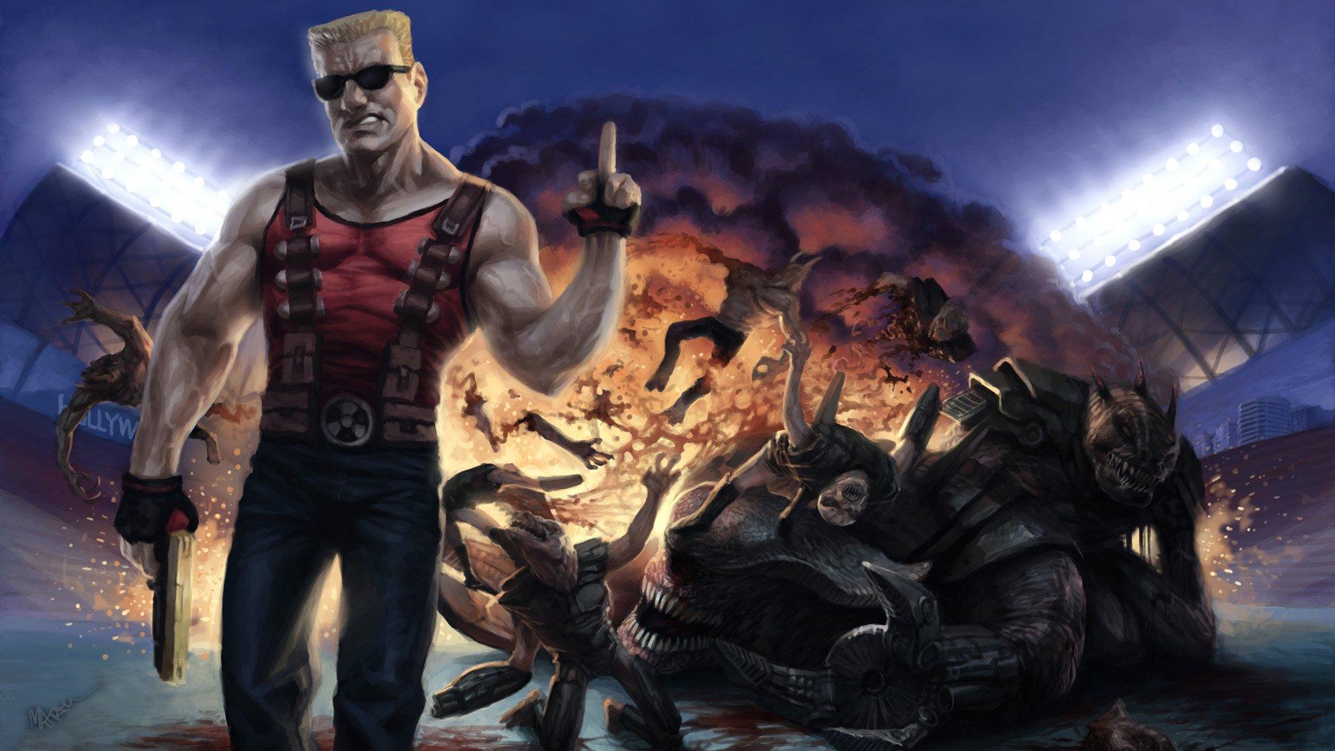 Creature Duke Nukem Game HD Wallpaper